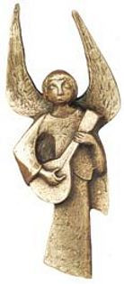 Angel with Lute - Photo Museum Store Company