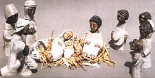 Nativity : 15 Pieces White - Photo Museum Store Company