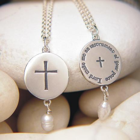 Contemporary Cross Necklace - Photo Museum Store Company