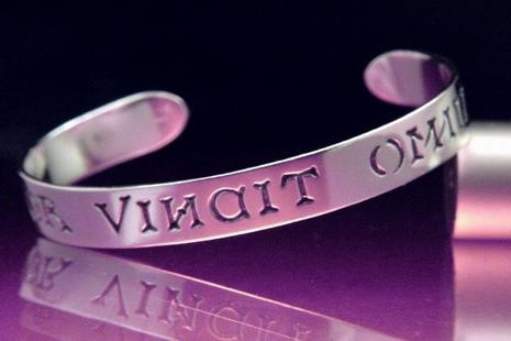 Amor vincit omnia (love conquers all) Bracelet, 13th Century (from Chaucer's Canterbury Tales - Photo Museum Store Co