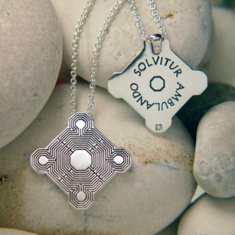 Medieval Labyrinth Necklace, Gothic 13th Century - Photo Museum Store Company