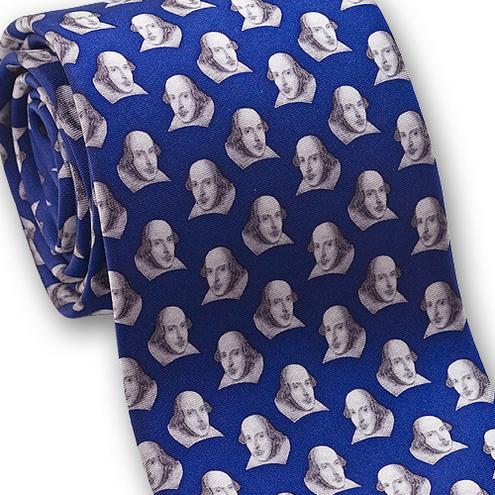 museum designs shakespeare necktie accessories apparel gifts