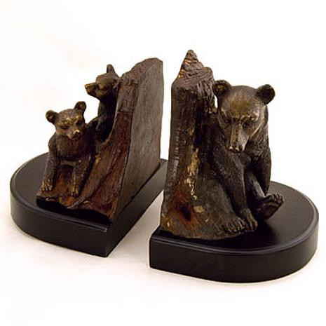 Bear Family Bookends - Pair - Photo Museum Store Company