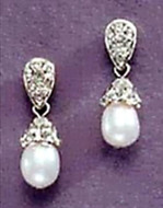 Jeweled Cap & Pearl Earrings - Russia,  1866, Hillwood Museum & Gardens - Photo Museum Store Company