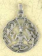 Cernnunos Pendant on Cord : Celtic and Irish Collection - Photo Museum Store Company