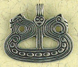 Viking Ship Pendant on Cord : Norse and Viking Collection - Photo Museum Store Company