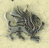 Dragon Pendant on Cord : Norse and Viking Collection - Photo Museum Store Company