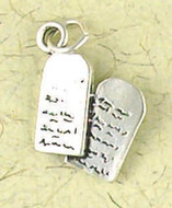 Ten Commandments Pendant on Cord : Christian Talismans & Saints - Photo Museum Store Company