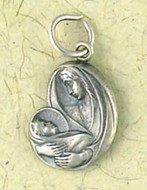 Madonna & Child Pendant on Cord : Christian Talismans & Saints - Photo Museum Store Company