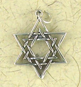 Star of David Pendant on Cord : Judiaca Collection - Photo Museum Store Company