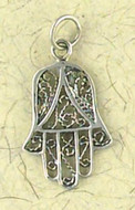 Hamsa Pendant on Cord : Judiaca Collection - Photo Museum Store Company
