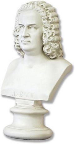 Bach Bust - Photo Museum Store Company