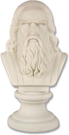 Da Vinci Bust - Photo Museum Store Company