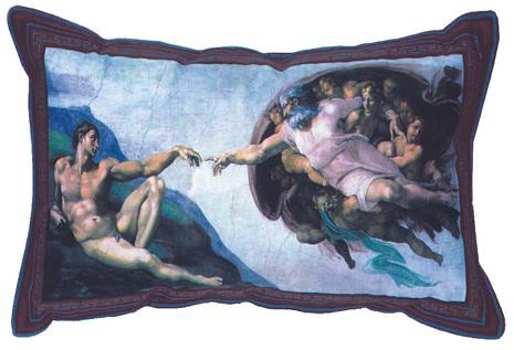 Wind Up Michelangelo Pillow - Photo Museum Store Company