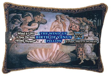 Birth of Venus Pillow - Musical Pillow - Photo Museum Store Company