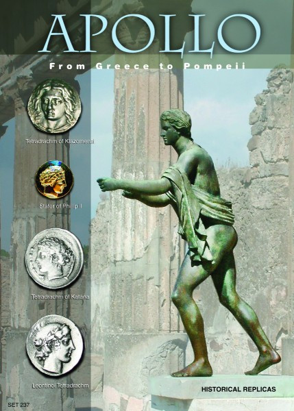 Apollo From Greece to Rome - Coins of the Olympian God Apollo (480 to 336  BC) - Replica Coins