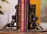 Pinecone Bookends - Pair - Photo Museum Store Company