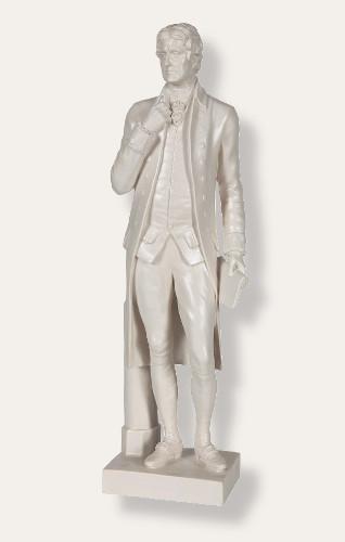 Standing Jefferson, Hiram Powers  - Photo Museum Store Company