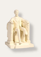 Seated Lincoln, President Abraham Lincoln, Daniel Chester French - Photo Museum Store Company