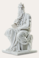 Moses, by Michalengelo - Photo Museum Store Company