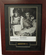 Band of Brothers - Wild Bill - Autographed and Signed by Wild Bill, with Artifact, Relic - Photo Museum Store Company