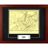 Bull Run Map - with Artifact, Relic - Photo Museum Store Company
