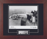 Doolittle Raid - Autographed and Signed by Dick Cole, with Artifact, Relic - Photo Museum Store Company