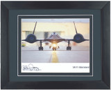 SR71 Blackbird - Autographed and Signed by Al Joerz - Photo Museum Store Company