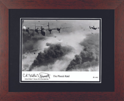 Ploesti Raid - Autographed and Signed by Walter Stewart - Photo Museum Store Company