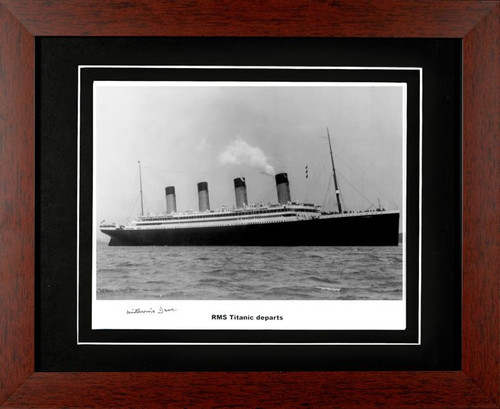 Titanic 2008 edition - Autographed and Signed by Millvina Dean - Photo Museum Store Company