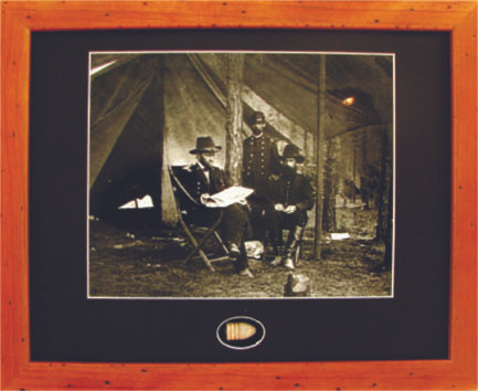 Grant in camp - with Artifact, Relic - Photo Museum Store Company