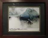 F-14 Tomcat - Autographed and Signed by Dale (Snort) Snodgrass - Photo Museum Store Company