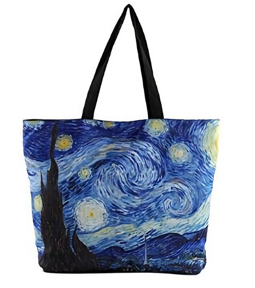 Vincent Van Gogh Starry Night Tote Bag (Handbag, Purse)- Photo Museum Store Company