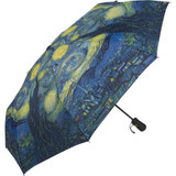 Van Gogh Folding Starry Night Umbrella - Photo Museum Store Company