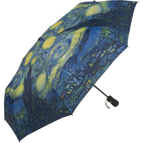 Van Gogh Folding Starry Night Umbrella - Photo Museum Store Company