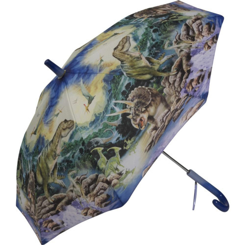 Dinosaurs Kid's Stick Umbrella - Photo Museum Store Company