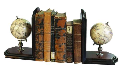 Globe Bookends - Photo Museum Store Company