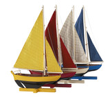 Sunset Sailers, Set Of 4 - Photo Museum Store Company