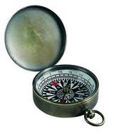 Brass Pocket Compass - Photo Museum Store Company