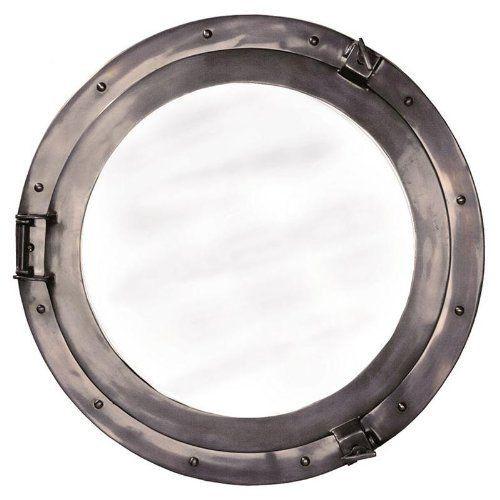 Lounge Porthole Mirror, Large - Photo Museum Store Company