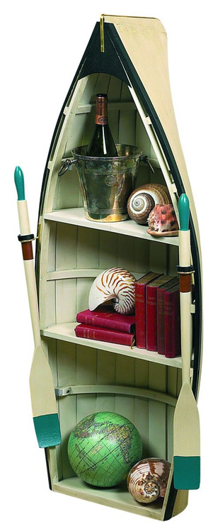 Dory Bookshelf / Table With Glass - Photo Museum Store Company