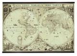 World Map 1690 - Photo Museum Store Company