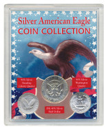 Collector's Silver American Eagle Coin Collection - Actual Authentic Collectable - Photo Museum Store Company