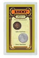 Collector's 1800's Rare Coin Collection - Actual Authentic Collectable - Photo Museum Store Company