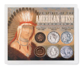 Collector's Spirit of the American West Coin Collection - Actual Authentic Collectable - Photo Museum Store Company