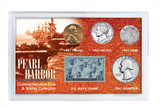 Collector's Pearl Harbor Coin & Stamp Collection - Actual Authentic Collectable - Photo Museum Store Company