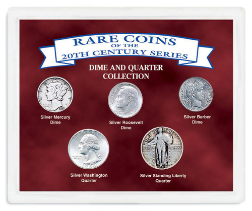 Collector's Rare Coins of the Twentieth Century - Actual Authentic Collectable - Photo Museum Store Company