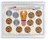 Collector's Patriotic Pennies Collection - Actual Authentic Collectable - Photo Museum Store Company