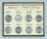 Collector's Complete Jefferson Nickel Design Collection - Actual Authentic Collectable - Photo Museum Store Company
