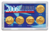Collector's 2006 Gold-Layered State Quarters - Actual Authentic Collectable - Photo Museum Store Company